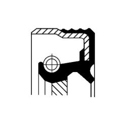 Uszczelniacz wału korbowego tył CORTECO 12014523B