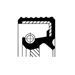 Uszczelniacz wału korbowego tył CORTECO 20033412B