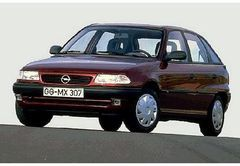 OPEL ASTRA F hatchback (53, 54, 58, 59)