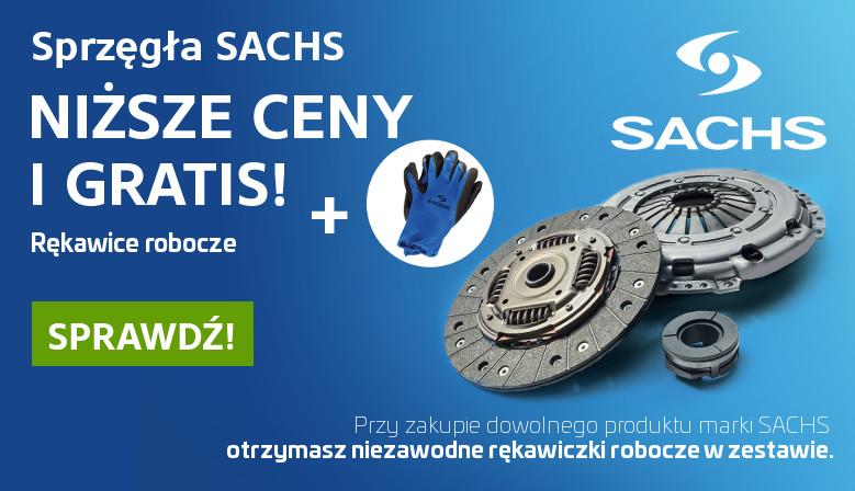 Promocja SACHS - Odbieraj nagrody!