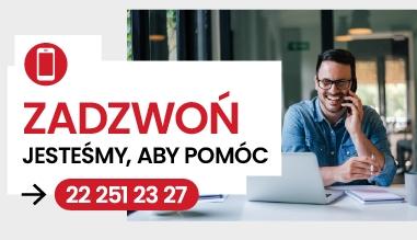 Potrzebujesz pomocy? Zadzwoń (22) 251 23 27!